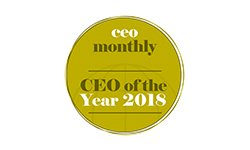 ceo of the year recognition logo
